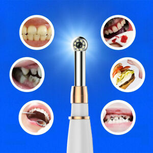 720p Hd Wifi Dental Intraoral Camera Waterproof Endoscope Teeth Mirror Led Light