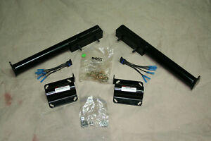 Snow Plow Light Mounting Kit Used To Convert From Western To Boss Lights
