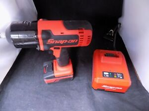 Snap On Ct7850 1 2 Drive 18v Lithium Ion Impact With Battery And Charger Nice