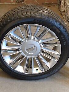 Brand New 2017 Cadillac Escalade Platinum 22 Full Set Of 4 Wheels With Tires