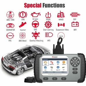 Vident Iauto 702 Pro Epb Immo Abs Sas Dpf Regen injector Coding Obd2 Scanner Us