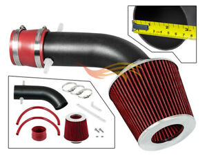 Red Rw Racing Ram Air Intake Kit For 2001 2003 Acura Cl Tl Type S 3 2l V6