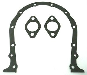 Bbc Timing Chain Cover Gasket Fits Bb Chevy 396 402 427 454 472 502 Gears Front