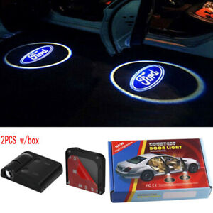 2x Car Door Light Welcome Laser Projector Courtesy Ghost Shadow Light For Ford