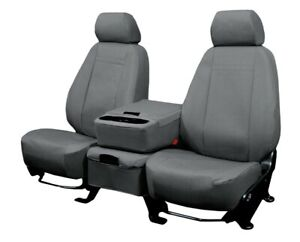 Toyota Tundra 2007 2013 Charcoal Duraplus Custom Fit Front Seat Covers