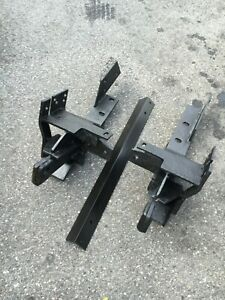 Fisher Minute Mount Plow Push Plates Dodge 7157