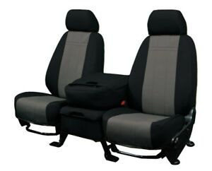 Nissan Titan 2011 2015 Charcoal Neosupreme Custom Fit Front Seat Covers