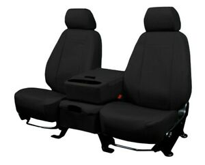 Toyota Camry 2012 2017 Black Duraplus Custom Fit Front Seat Covers