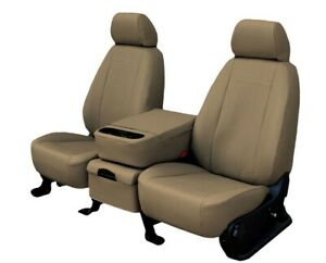 Ford Mustang 1987 1998 Beige Faux Leather Custom Fit Front Seat Covers