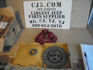 Jeep Willys Mb Gpw M38 Cj2a Cj3a New Clutch Kit