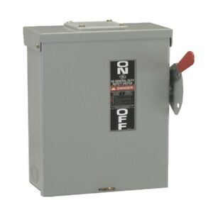 Ge Industrial Tg3223r General Duty Safety Disconnect Switch