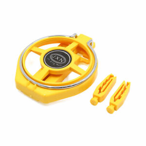 Yellow Automobile Car Air Vent Mounted Foldable Cup Bottle Drink Holder Stand