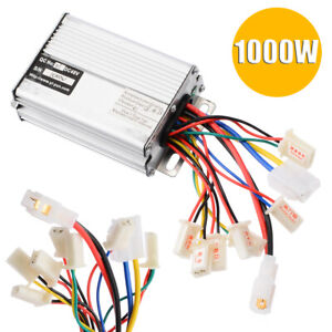 1000w 48v For Electric Scooter Motor Brush Speed Controller Bike Vehicle Bicycle