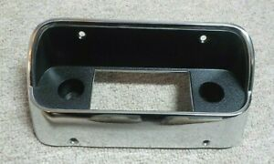 1967 1968 Original Used Ford Mustang Radio Bezel W o Console