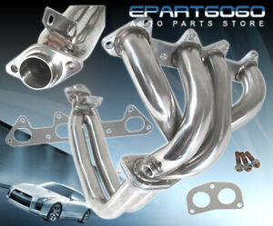 4 2 1 Performance Stainless Steel Header For 1994 1995 1996 1997 Honda Accord L4