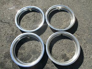 Ford Chevy Nissan Toyota Celica 14 Inch Metal Beauty Rings Trim Rings