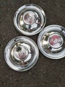 15 Inch Vintage Plymouth Hubcaps