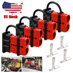 4x Battery Quick Connect Disconnect Electrical Plug 175a 2 4 Gauge Winch Trailer
