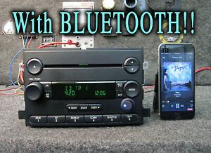 Ford Bluetooth F150 Mustang Fusion Cd Disc Player Stereo Radio 2004 2005 2006