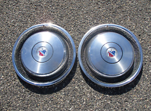 Factory 1978 1979 Buick Electra Limited 15 Inch Metal Hubcaps Wheel Covers