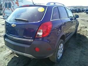 2013 Chevrolet Captiva Sport Pass R Side Quarter Mounted Tail Lamp 86k
