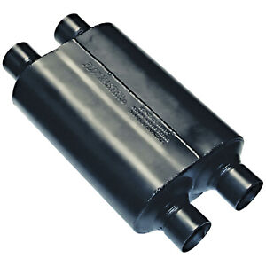 Flowmaster Super 40 Muffler 2 50 Dual In 2 50 Dual Out Aggressive Sound