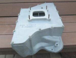 Original Bud Moore Engineering 351c Maxi Plenum Intake Manifold 351 C Crossram