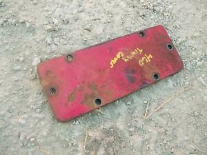 Farmall 460 Rc Ih Tractor Original Transmission Inspection Cover Plate