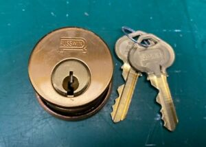 Russwin 5 Pin Mortise Lock Cylinder New Old Stock Locksmith Locksport