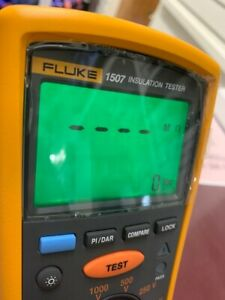 Fluke 1507 Insulation Tester Multimeter cjl040066
