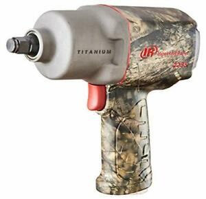 Ingersoll Rand 2235timax Camo 1 2 Drive Impact Wrench With Titanium Hammer C