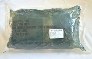 U s Military Chemical Protective Suit Sealed Bag Size Large