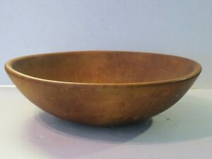 Large Antique Wooden Dough Bowl Parrish Chicago Finest Quality Marked