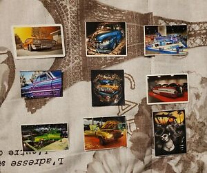 30 Cool Lowrider Stickers Collectible