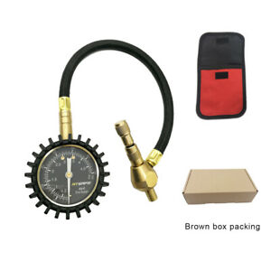 2 In 1 Tire Rapid Deflator Pressure Gauge 75psi For 4x4 Large Offroad Tires
