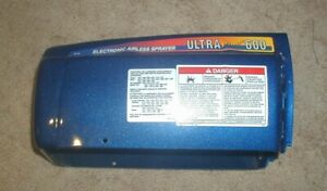 Genuine Graco 237658 Ultra 600 Plus Motor Cover Cowling Airless Part