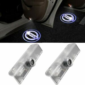 Led Car Door Logo Welcome Light Ghost Shadow Laser Lamp For Nissan Altima Maxima