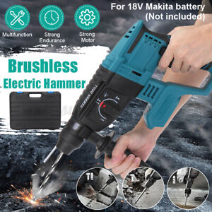 Multifunctional Electric Demolition Jack Hammer Impact Drill Concrete Usa