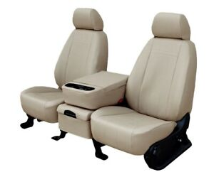 Ford Mustang 2005 2011 Sandstone Faux Leather Custom Fit Front Seat Covers