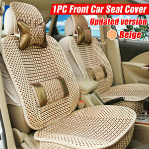 Cool Car Seat Cover Pad Cushion Cushion Protector W Pillow Summer Breathable Us