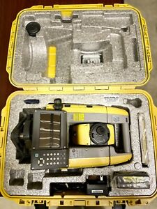 Topcon Gt Robotic Total Station With Rc Remote Prism Poles And Data Collector