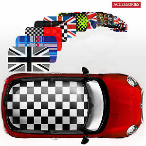 Classic Whole Roof Graphics Decor Stickers Decal For Mini Cooper F56 Hatchback