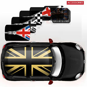 Classic Whole Roof Graphics Decor Stickers Decal For Mini Cooper R55 Clubman