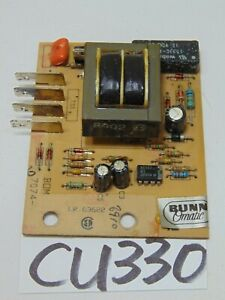 Bunn O Matic Commercial Coffee Maker Stf 15 Replacement Part Board Lr 63622