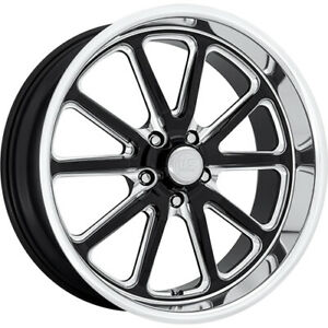 4 Staggered 18x8 18x9 5 Us Mags Rambler Black Milled 5x4 75 1 1 Wheels Rims
