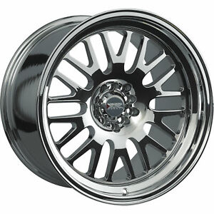 17x8 Pvd Chrome Wheel Xxr 531 4x100 4x4 5 25