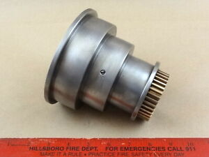 Nice Original South Bend Heavy 10 Lathe Headstock Spindle Flat Belt Pulley Cone