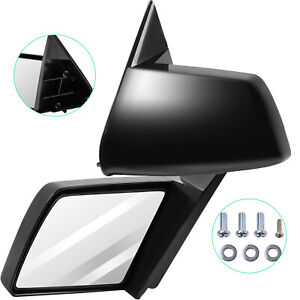 For 88 98 Gmc Chevy Pickup Truck Manual Side Mirrors Left Lh Right Rh