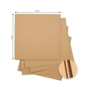 50 1000 Insert Pads 12 25 X 12 25 Lp Record Mailers Album Book Corrugated Pad