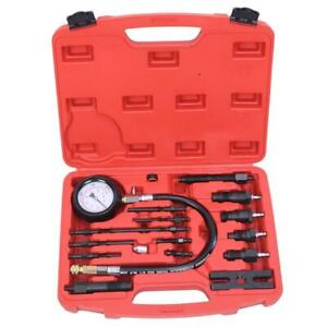 Diesel Engine Compression Tester Test Set Kit For Auto Tractor Semi With Case Us